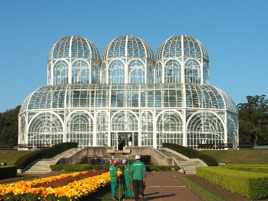 Curitiba, PR: the Botanical Gardens
