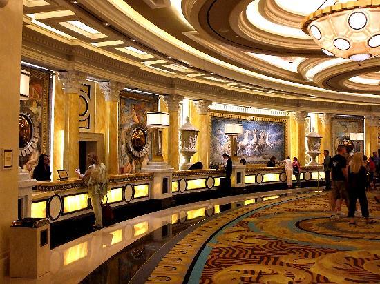 Forum Shops At Caesars Palace: Front Desk Nice Design