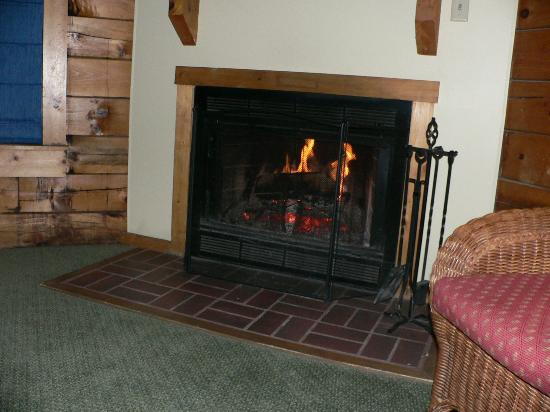 Fireplace Gordonsville  Shenandoah Crossing: The wood burning fireplace