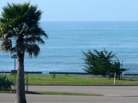 San Simeon Lodge: View from my ocean view room.