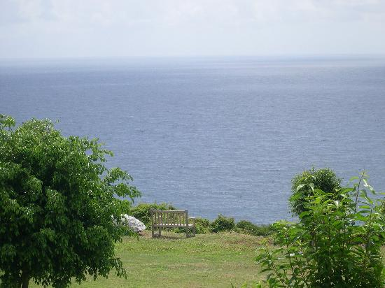 Sint Eustatius: View from the Botanical Gardens