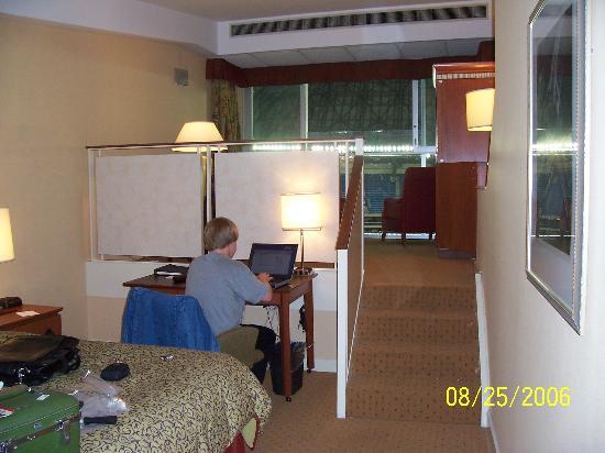 Toronto Marriott City Centre Hotel Bi Level Room