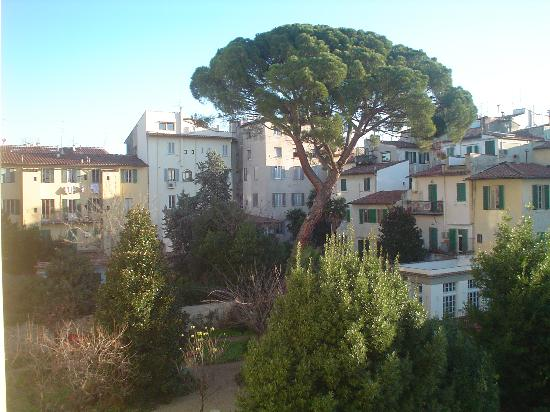 Hotel Caravaggio : View from our tiny room. No complaints about this hotel. Lovely place.