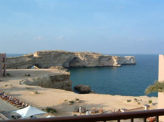 Barr Al Jissah, Oman: private bay and beach