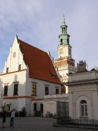 Poznan, Polonia: Stary rynek.