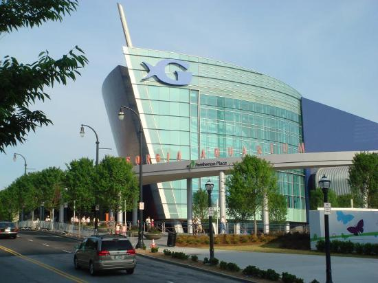 Атланта, Джорджия: The Georgia Aquarium