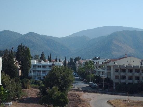 Marmaris, Turchia: view from balcony at erdan han