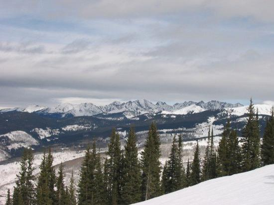 Vail, CO: View from our favorite ski run