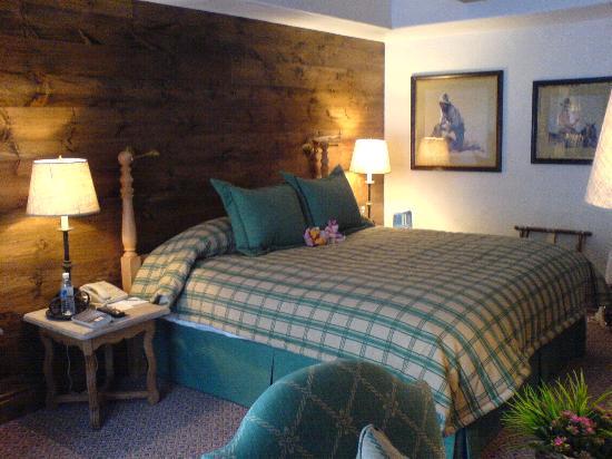 Sonnenalp: The cosy bedroom
