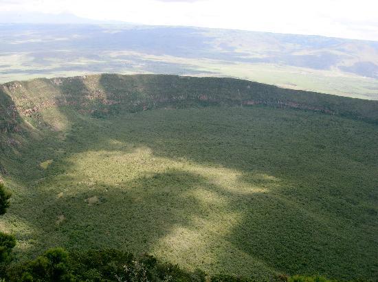 Maai Mahiu, เคนยา: view of the crater