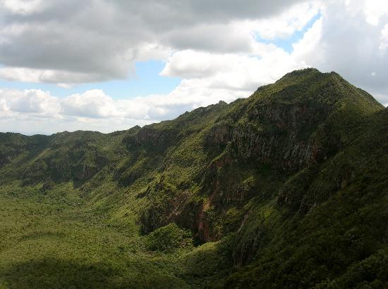 Maai Mahiu, كينيا: view of the crater