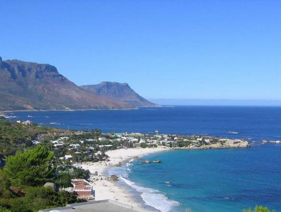 Cape Town sentrum, Sør-Afrika: Clifton Beach, Cape Town