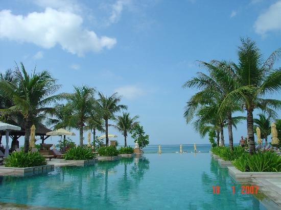 Layana Resort and Spa: from the pool out to the sea