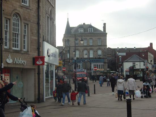 the centre of Barnsley