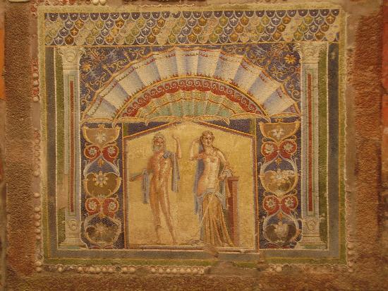 Ruins of Herculaneum: Neptune and Amphitrite