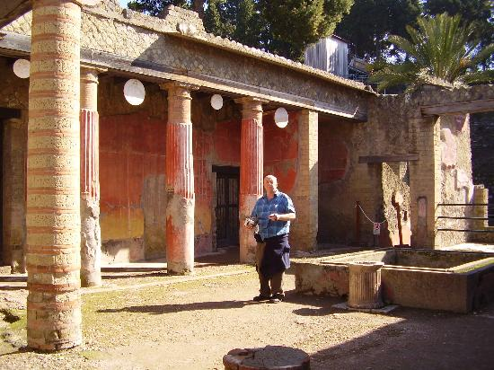 Ruins of Herculaneum ภาพถ่าย