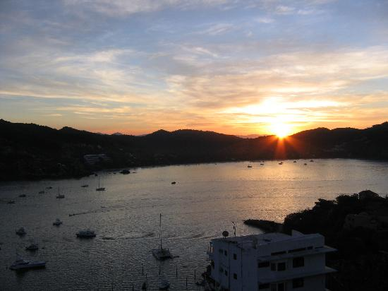 Zihuatanejo, Mexiko: Zihua sunset