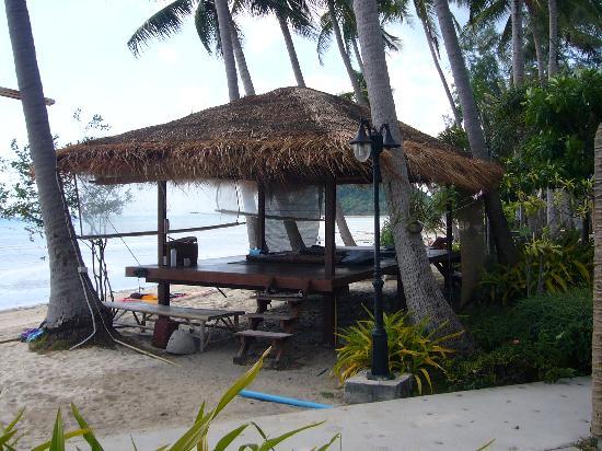 Samui Amanda Resort: The outdoor massage sala