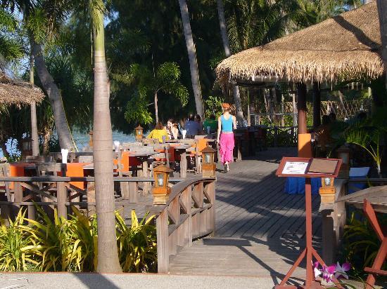 Samui Amanda Resort: The restaurant