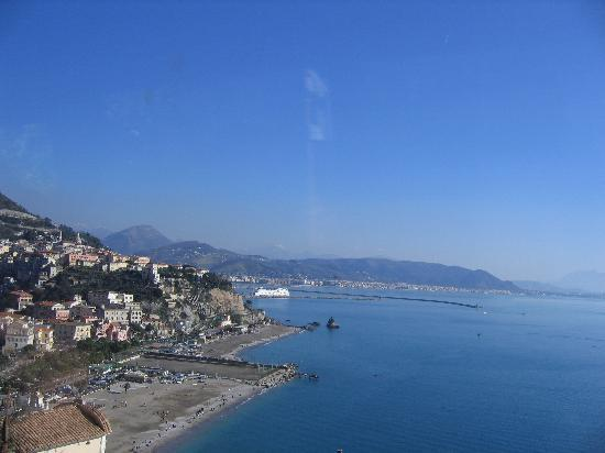 Marina and beach area of Vietri Sul Mare