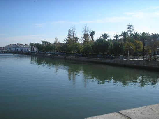 Tavira, Portekiz: Taken from Roman bridge