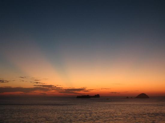 Ixtapa, Μεξικό: sunset from my room1