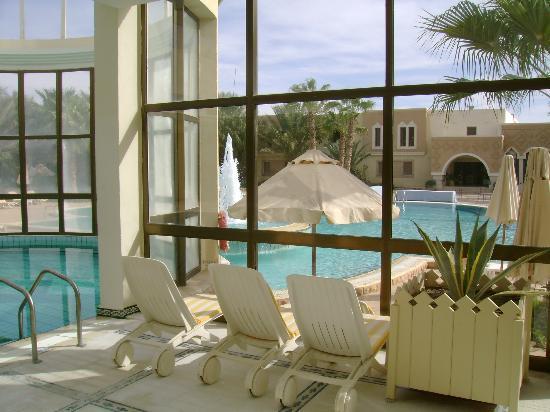 Palm Beach Palace Tozeur : Piscine intérieure