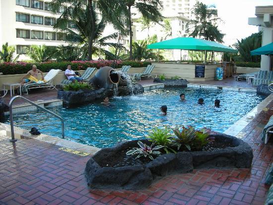 Hyatt Regency Waikiki Resort Spa Hotel Pool