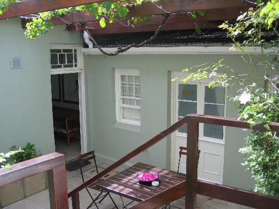 De Waterkant House: Patio in Courtyard