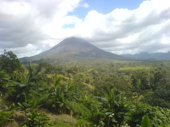 Kosta Rika: arenal volcano