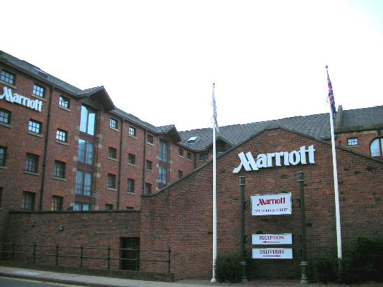 Manchester Marriott Victoria & Albert Hotel: Marriott V&A - The Former Warehouse As Viewed From Water Street