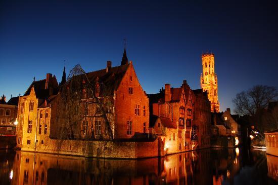Bruges, Belgium: Rozenhoedkaai