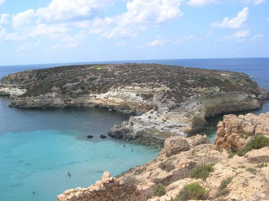 Bilde fra Lampedusa