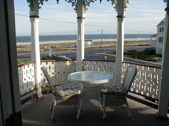 Angel of the Sea: View of the ocean from porch