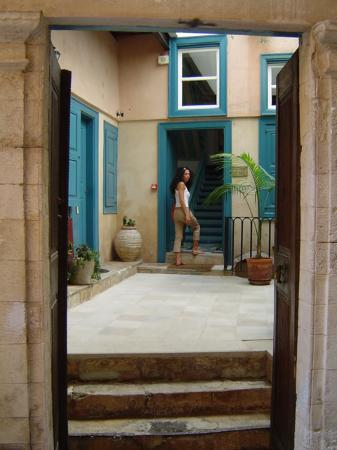 Amphora Hotel:                                     The hotel entrance