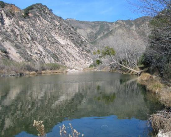 Santa Barbara, Californien: Santa Ynez River