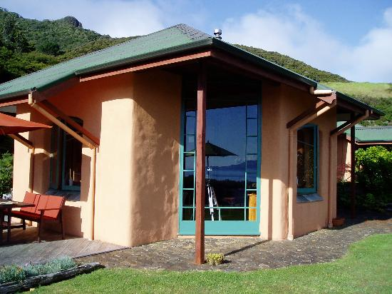 Earthsong Lodge: The main lodge building
