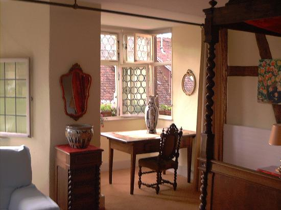 The House Dissler - L'Ecurie : View of Our Room