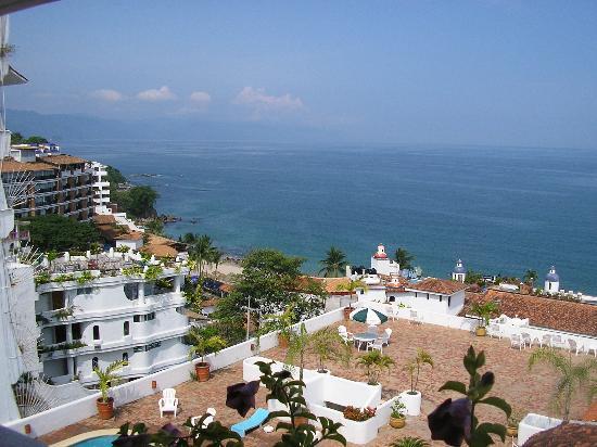 Brisas Del Mar: view from top floor  July 2006