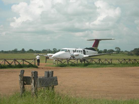 Mpata Safari Club: Our plane to the Masai Mara