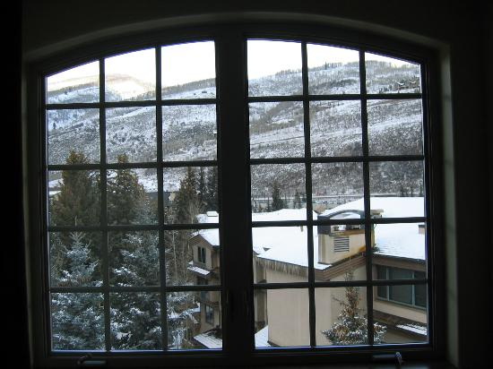 Tivoli Lodge: view from room