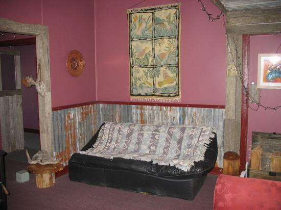 Mount Black Lodge: Lounge area