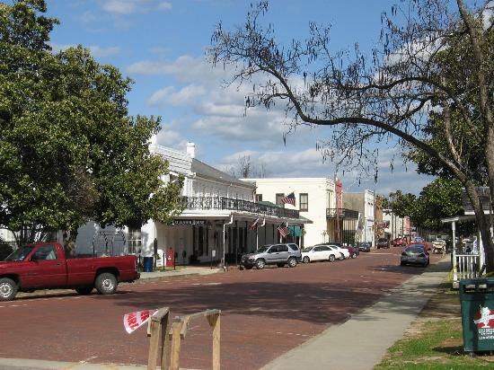 Captain's Castle and Carriage House Inn: Street in downtown