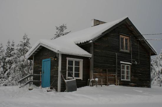 Hotel Harriniva: Wilderness cabin exterior