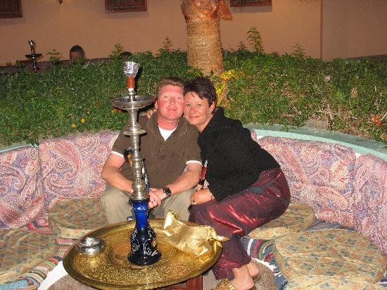 Baron Resort Sharm El Sheikh: Relaxing with a Shisha