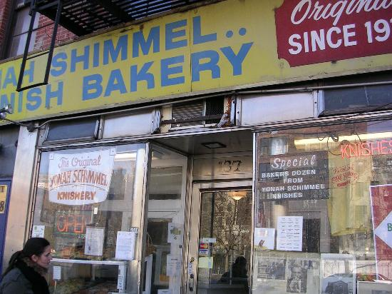 The Enthusiastic Gourmet: Yonah Shimmel's Knish Shop