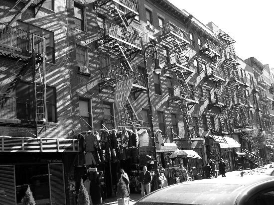 The Enthusiastic Gourmet: The tenements of the lower east side