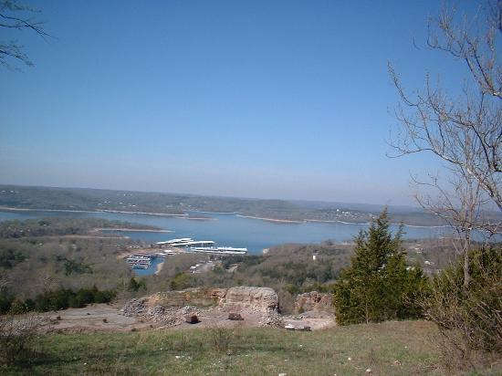 Branson, Μιζούρι: Lake view from the Ducks