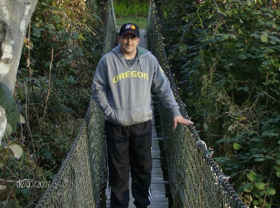 Howard Creek Ranch: The Swinging Bridge