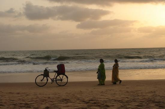 Candolim, Indien: Sunset in Candolin
